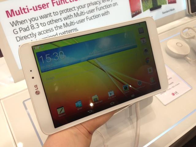 130905-lggpad IFA 2013: LG G Pad 8.3 Android Tablet