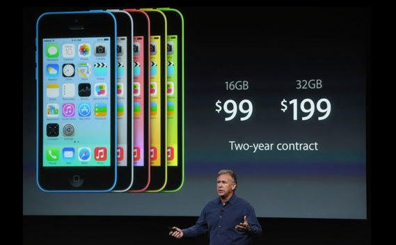 "130910iphone-1 Apple Announces Metallic iPhone 5S and ""Unapologetically Plastic"" iPhone 5C"