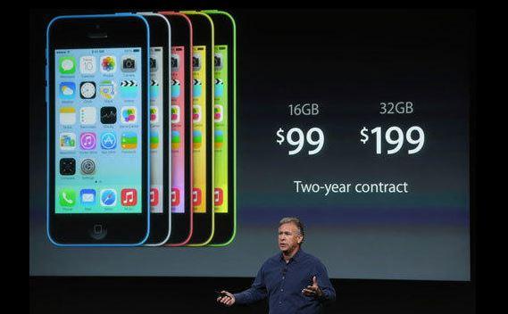 "130910iphone-1 Apple Announces Metallic iPhone 5S and ""Unapologetically Plastic"" iPhone 5C"