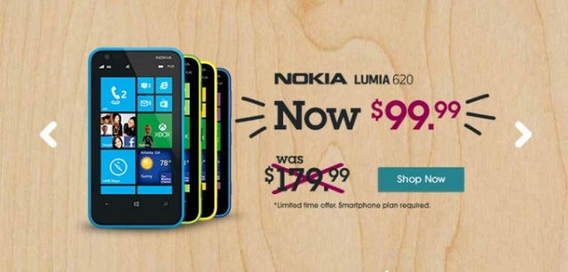 Aio-Wireless-Nokia-Lumia-620 Nokia Lumia 620 On Aio Wireless Costs Just $99; Available Throughout US