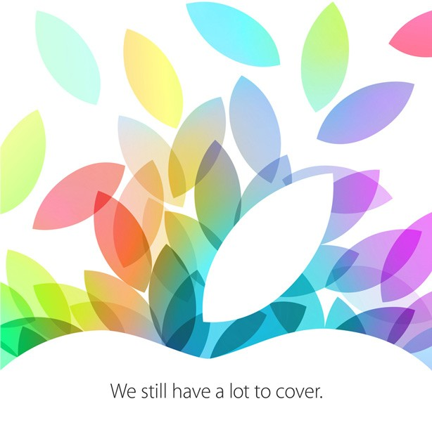 131016-apple What to Expect from Apple's October 22 iPad Event