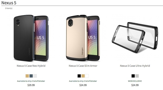 131025-nexus1 Google Play: Nexus 5 Starts Selling on October 31