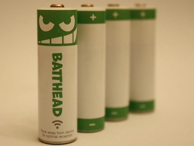 battheads Control Any Device With Your Smartphone By Using Batthead Batteries (Video)