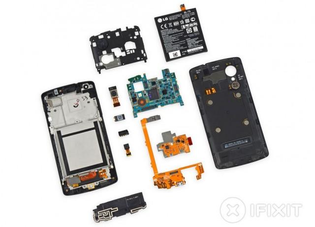 131105-nexus-640x461  Google Nexus 5 Teardown Reveals 8/10 Repairability Score