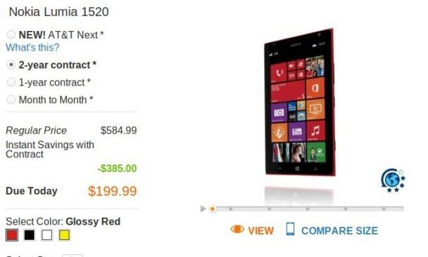 131108-nokia  AT&T Pre-Orders for Nokia Lumia 1520 Now Accepted
