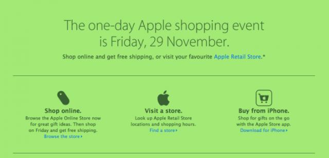 131125-apple-640x308 Apple Black Friday Deals Online Start at Midnight