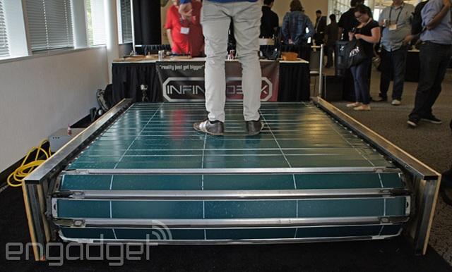 infinideck-treadmill Infinadeck: The Omni-Directional Treadmill (Video)