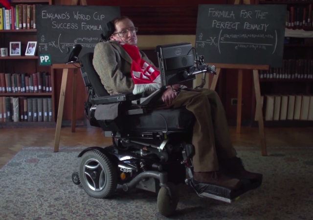 stephen-hawking-england-world-cup FIFA World Cup 2014: England Will Win, Says Stephen Hawking (Video)