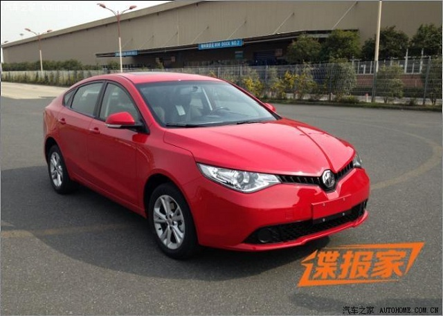 2014-mg5-sedan-2 New MG5 Sedan Spied in China