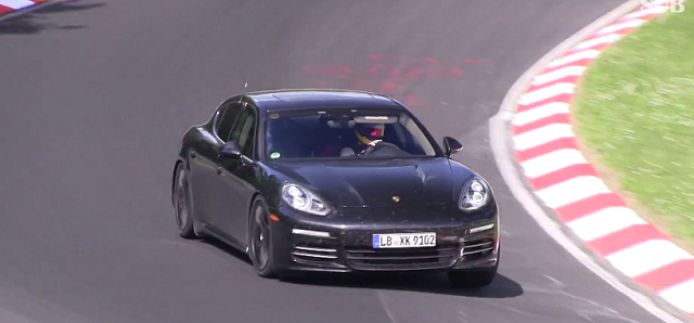 2017-porsche-panamera-v6-v8 2017 Porsche Panamera Likely To Be Powered By New V6 And V8 Engines (Video)