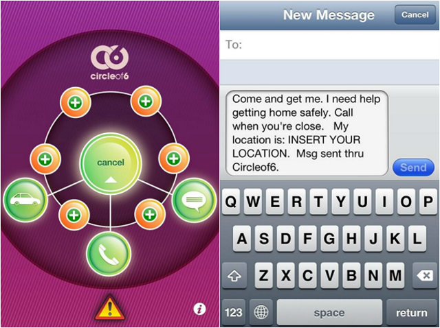 Circle-of-6-App-Review-Screenshots1 Smart Apps For Smart And Safe Indian Women