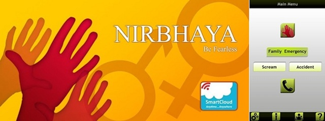 Nirbhaya-App-safety-for-women Smart Apps For Smart And Safe Indian Women