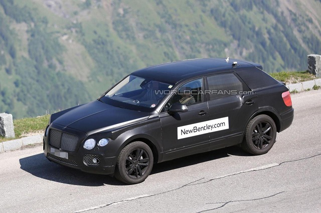 bentley-crossover-2016 New Bentley Luxury Crossover Spied Inside Out At the Alps