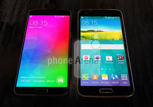 galaxy-f-1 Samsung Galaxy F (S5 Prime): Snapdragon 805, 3GB RAM And 5.25-Inch QHD AMOLED Display