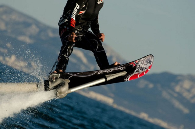 jet-powered-hoverboard Fly Over the Waves With This Jet-Powered Hoverboard (Video)