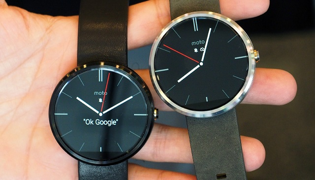 moto-360-google-io Motorola Unveils Moto 360 Android Wear Smartwatch At Google I/O, Brings Haute Couture To Technology (Hands-On Video)