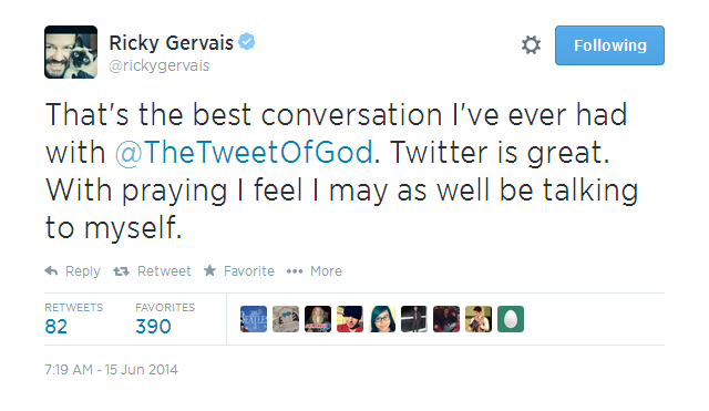 ricky-gervais-god-6 Ricky Gervais Had A Hilarious Chat With God