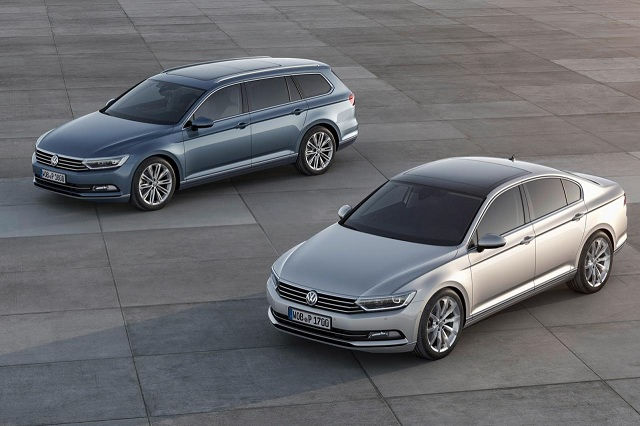 2015-Volkswagen-Passat-B8 2015 Volkswagen Passat B8 (Euro-Spec) Officially Revealed