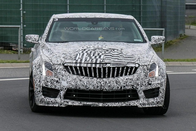 2016-Cadillac-ATS-V-Coupe-1 2016 Cadillac ATS-V Coupe, A Competitor To BMW M4, Spied in Germany