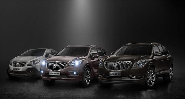 Buick-envision Buick Envision, The Midsize Gasoline Crossover, Unveiled In China