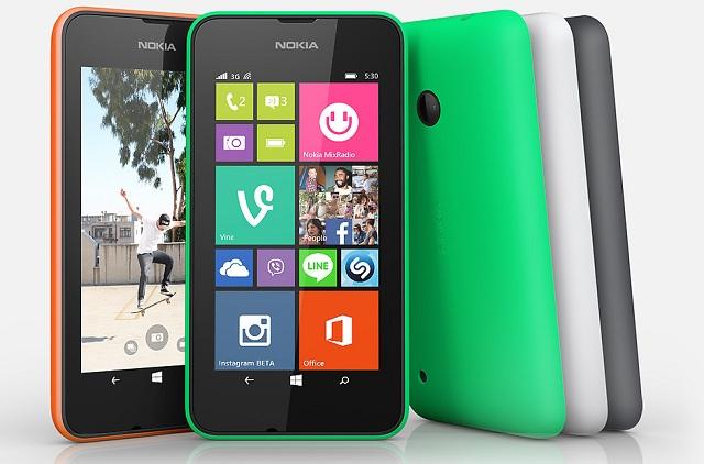 Nokia-Lumia-530 Nokia Lumia 530 Hands-On Video