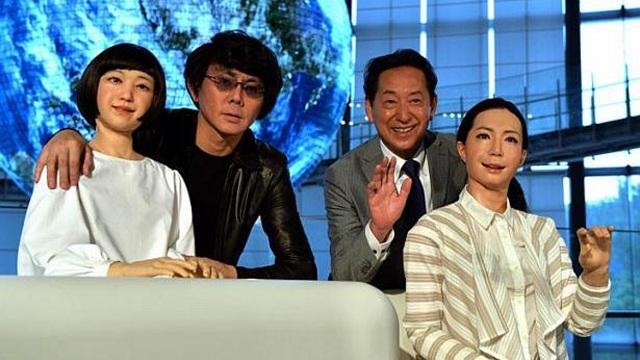 Otonaroid-Kodomoroid-Hiroshi-Ishiguro Otonaroid And Kodomoroid: Hiroshi Ishiguro's New Robots For A Tokyo Museum (Video)