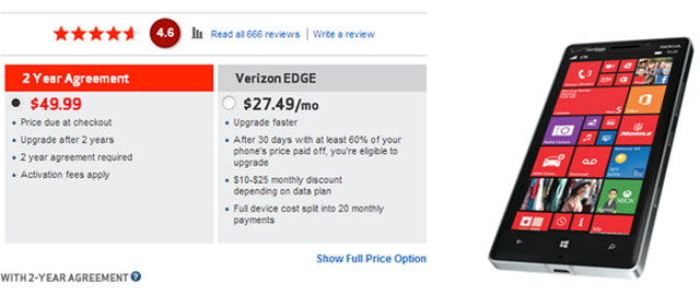 Verizon-Nokia-Lumia-Icon Verizon Nokia Lumia Icon Now Costs $49.99 On Contract