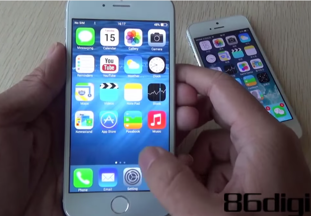 iphone-6-clone-goophone-wico-i6 Goophone WICO i6: The iPhone 6 Clone (Hands-On Video)