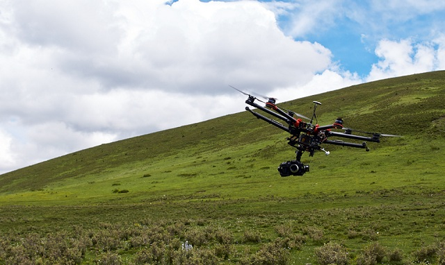 DJI-Spreading-Wings-S900-pro-level-drone DJI Spreading Wings S900 Hexacopter (Video)