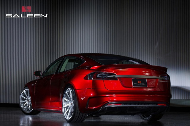 Saleen-FourSixteen-1 Tesla Model S-Based Saleen FourSixteen Officially Unveiled; Looks Sporty With Upgrades Meant For The Track