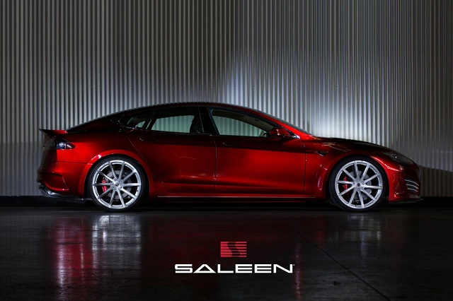 Saleen-FourSixteen-2 Tesla Model S-Based Saleen FourSixteen Officially Unveiled; Looks Sporty With Upgrades Meant For The Track