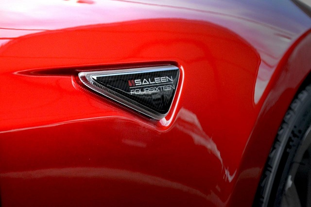 Saleen-FourSixteen-3 Tesla Model S-Based Saleen FourSixteen Officially Unveiled; Looks Sporty With Upgrades Meant For The Track