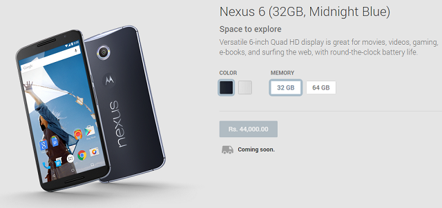 nexus-6-india-google-play Nexus 6 Listed On Google Play In 12 Additional Countries